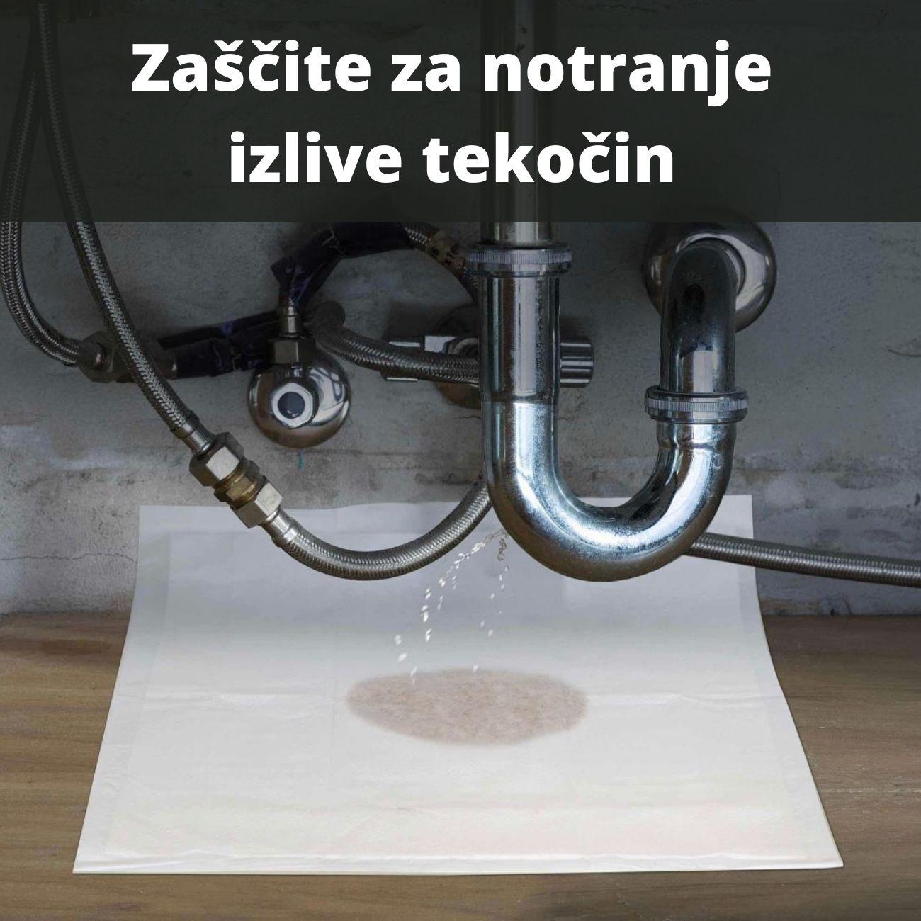 Zaščite za notranje izlive tekočin - Vistler zaščite